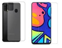 Película De Nano Gel Flexivel Frente e Verso Anti Risco Samsung Galaxy M21S - Dv Acessorios