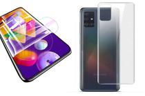 Película De Nano Gel Flexivel Verso e Frontal Anti Risco Samsung Galaxy M51 - Dv Acessorios