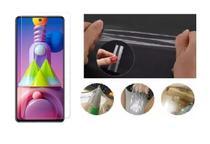 Película De Nano Gel Frontal Cobre 100% O Display Samsung Galaxy M51 - Dv Acessorios