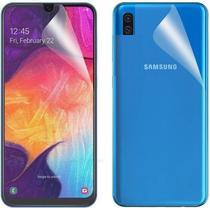 Pelicula De Nano Gel Frontal e Traseira Flexível Cobre 100% Tela Samsung Galaxy A20S - Dv