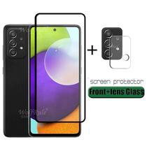 Pelicula de Vidro 21D Para Samsung Galaxy A52 + Pel Camera - M7