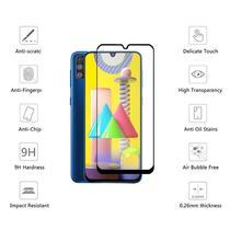 Película De Vidro 3D 5D 9D Full Cover (PRETA) Samsung Galaxy M31 - Dvacessoriod