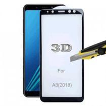 Película de Vidro 3D 5D e 6D Samsung Galaxy A8 2018 Preta - Nmastoh