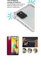 Película De Vidro 3D 5D Samsung Galaxy M31 + Película Da Lente + Capa Reforçada Transparente - Dv Acessorios
