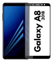 Pelicula de Vidro 3D 9D Samsung Galaxy A8 2018 Tela Toda - Yellow Lens