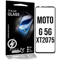 Película De Vidro 3D Borda Curvada MOTO G 5G PLUS XT2075 (Tela 6.7) CELL IN POWER25 -