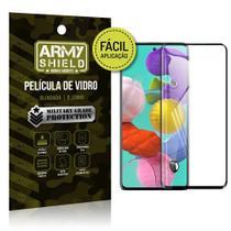Película de Vidro 3D Fácil Aplicação Galaxy A71 - Armyshield -