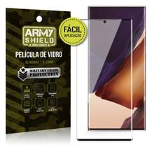 Película de Vidro 3D para Samsung Note 20 Ultra Fácil de aplicação - Armyshield -