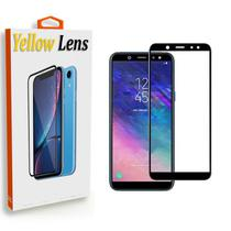 Pelicula de Vidro 3D Samsung Galaxy J6 2018 Tela Toda - Yellow Lens