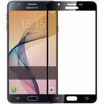 Película de Vidro 5D Samsung Galaxy J5 Pro Com Borda Preta - Universal