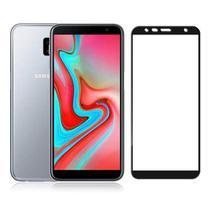 Pelicula De Vidro 6D Samsung Galaxy J6 Plus 2018 Tela Toda -