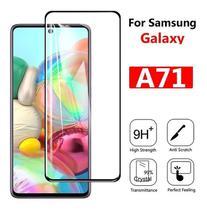 Película De Vidro 9d 9h Galaxy A71 - Cobre Toda Tela - Flex