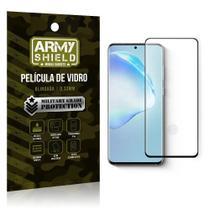 Película de Vidro Blindada Curvada cola em toda tela Galaxy S20 - Armyshield -
