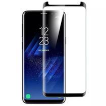 Película De Vidro Curvada Com Borda Preta Samsung Galaxy S8 -
