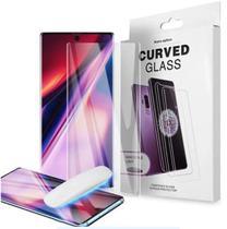 Película De Vidro Temperado Galaxy Note 10 Plus + Curva Vidro Com Cola Líquida Uv - Global Capas