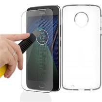 Película de vidro temperado para celular Moto G5 Plus - H maston