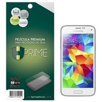 Pelicula de Vidro Temperado Transparente Samsung Galaxy S5 Mini -