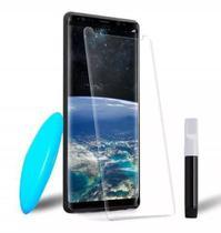 Película De Vidro Uv Curvada Cola Líquida Samsung Galaxy S9 - Nano Optics