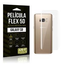 Película Flex 5D Traseira Samsung Galaxy S8 - Armyshield -