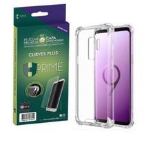 Pelicula HPrime Curves PRO 3 Samsung Galaxy S9 Kit com Capa TPU -