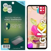 Película HPrime para LG K42 - Vidro Temperado Transparente -