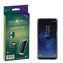 Película HPrime Samsung Galaxy S8 Kit Curves (Acompanha capa protetora) -