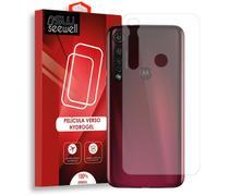 Pelicula Hydrogel Traseira Motorola G8 Plus - 100% Transparente - Seewell
