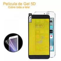 Película Nano Gel 5D + Capa Anti shock Transparente LG K11 / K11 Plus -