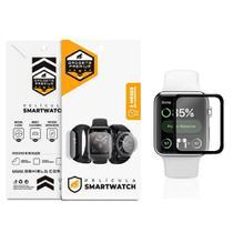 Película Nano Gel Dupla com Bordas Pretas para Apple Watch 38mm - Gshield - Gorila Shield