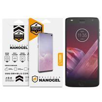 Película Nano Gel Dupla para Motorola Moto Z2 Play  Gshield (Cobre toda tela) -