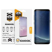 Película Nano Gel Dupla para Samsung Galaxy S8  Gshield (Cobre toda tela) -