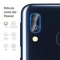 Película Nano Gel Flexível P/Lente de Câmera Samsung Galaxy M20 - Glass