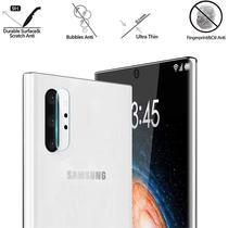 Película Nano Gel Flexível P/Lente de Câmera Samsung Note 10 Tela 6.3 + Capa Reforçada Antishock - Glass