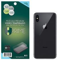Pelicula Premium HPrime iPhone X / XS - VERSO - Vidro Temperado -