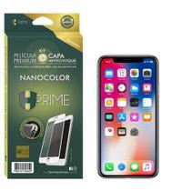 Película Premium HPrime Phone Xs Max - Kit NanoColor (Acompanha Capa Protetora) - Hprime Películas