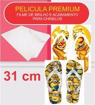 Pelicula Premium - Pelicula de Brilho para chinelos e tecidos - 31 cm - Promafilm