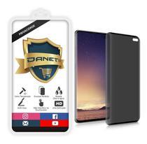 Película Privacidade Vidro 3d Full Galaxy S10 Plus Anti Curioso Spy - Danet