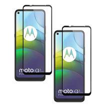 Película Protetora de Vidro 3D  + Capa Case Anti Impactos Motorola Moto G9 Power - Pixcases