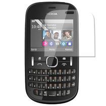 PelíCula Protetora Nokia Asha 201 Anti- Reflexo E Anti-Digitais -