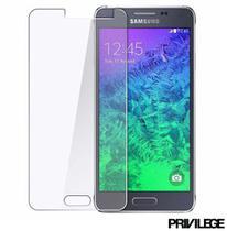 Película Protetora para Galaxy J5 de Vidro Transparente - Privilege - PRIVPJ5 -