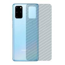Película Traseira Adesivo Skin Fibra Carbono Samsung S20 Plus - Hrebos