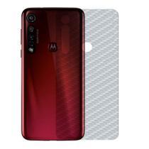Película Traseira de Fibra de Carbono para Motorola Moto G8 Plus - Gshield -