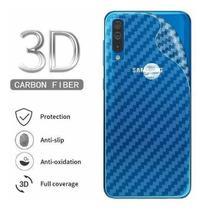 Pelicula Traseira Verso Fibra Carbono Samsung Galaxy M20 - As.Eletro