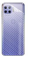 Película Traseira Verso Fibra De Carbono Para Motorola Moto G100 - Dv