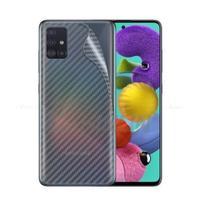 Película Traseira Verso Fibra De Carbono Samsung Galaxy A51 - Dv