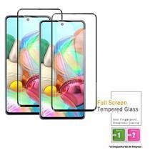 Película Vidro 3D Blindada Samsung Galaxy A71 + Kit Aplicação - Hm