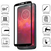 Película Vidro 3D Bordas Pretas Motorola Moto Z3 Play - Encapar