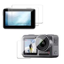 Películas de Vidro para Lente e LCDs Osmo Action (2 kits) - Sunnylife