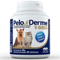 PELO & DERME 1500 - frasco com 60 comprimidos - Vetnil