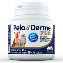 Pelo & Derme 750 (45g/60 Capsulas) - Vetnil -